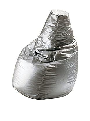 ZANOTTA Puff Grande Sacco aluminio