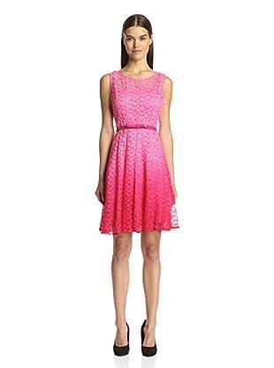 Chetta B Women's Ombre Fit & Flare Dress