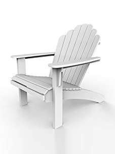 Malibu Outdoor Furniture Hampton Adirondack Chair (White)