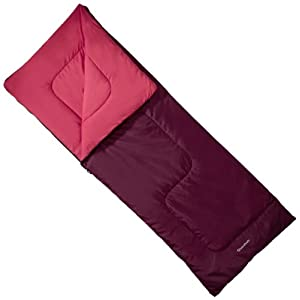 Quechua S20 Adult Sleeping Bag - Red