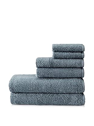 Terrisol Microcotton Luxury 6-Piece Towel Set (Smoke)