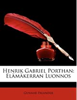 Henrik Gabriel Porthan: Elamakerran Luonnos