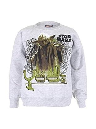 Character Club kids Sweatshirt Yoda Text