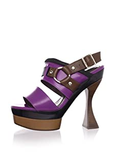 MARNI Women's Slingback Platform Sandal (Crocus)