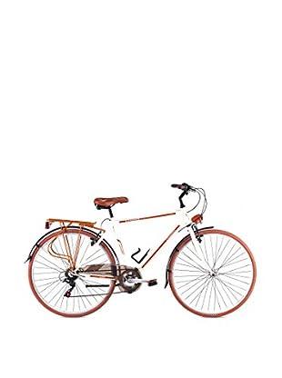Schiano Cicli Bicicleta 28 Trekking 3.0 06V. Crema / Cuero