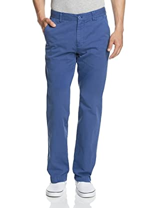 Khaki Surplus Men's Manchester Chino Lino Pant (Cobalt)