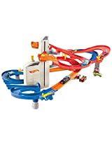 Hot Wheels City Motorized Ra, Multi Color
