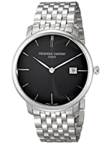 Frederique Constant Men's FC306G4S6B2 Slim Line Automatic Stainless Steel Bracelet Watch