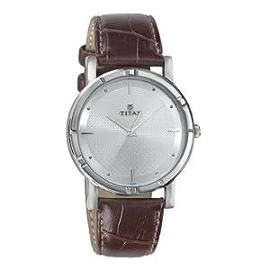 Titan Karishma Analog Silver Dial Men's Watch -1639SL01