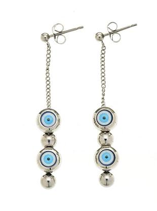Miss Sixty SMKZ07 - Blue Eyes - Pendientes de mujer de acero inoxidable