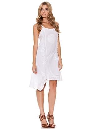Peace & Love Vestido Asimétrico (blanco)