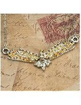 Rhinestone Eagle Chain Necklace