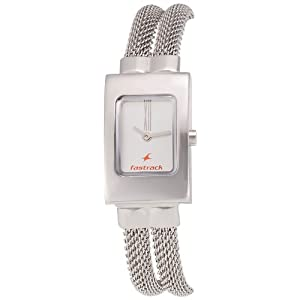 Fastrack Upgrade-Core Analog White Dial Women's Watch - NE2049SM09