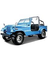 Bburago Jeep Wrangler, Blue