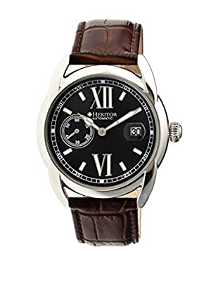 Heritor Automatic Uhr Burnell Herhr1804 braun 47  mm