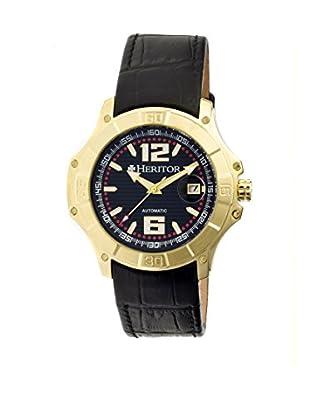 Heritor Automatic Uhr Norton Herhr3004 schwarz 48  mm