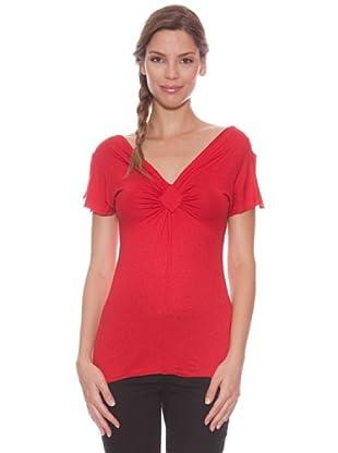 AM:PM by Espiral Camiseta Playa (Rojo)