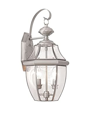 Crestwood Mabel 2-Light Wall Light, Brushed Nickel