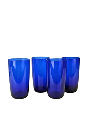 Set of 4 Midnight Blue 17-Oz. Hi-Ball Glasses