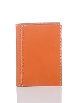 Nava Design Portafoglio Saffiano (Arancione)