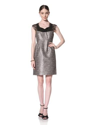 Twinkle By Wenlan Women's Winter Wonderland Dress (Champagne/Black)
