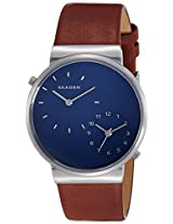 Skagen Ancher Analog Blue Dial Men's Watch - SKW6191