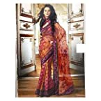 Graceful Dual Colour Saree by Aakriti