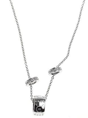 Cerruti R41088Z - Collar de mujer de acero inoxidable con circonitas