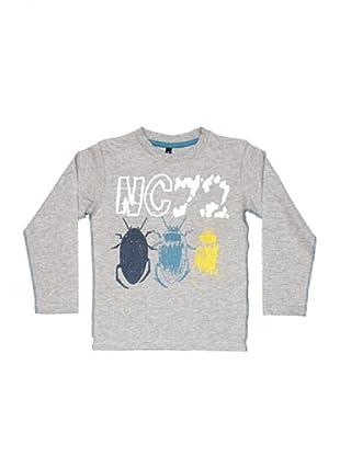 New Caro Camiseta Scribble (gris)