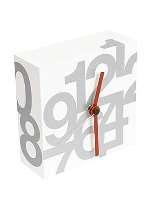 Nava Design Orologio Time (Bianco)