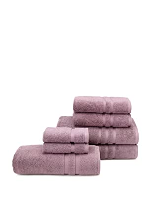 Chortex 7-Piece Irvington Bath Towel Set, Grape