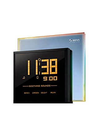 Oregon Scientific Reloj con proyector, luces de colores, 4 sonidos relajantes RM901
