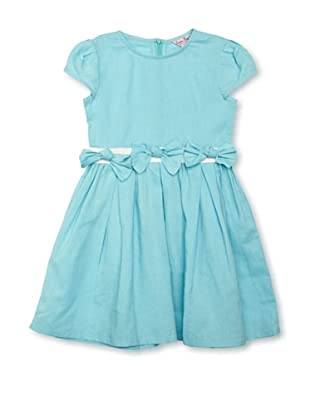 London Kiddy Vestido LK1304-101T (Turquesa)