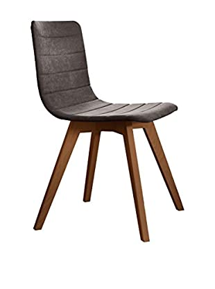 Domitalia Flexa Chair, Walnut