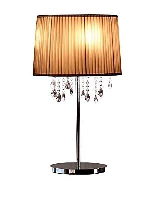 CRYSTAL Lámpara De Mesa Es.Hi-Land Tavolo S Nero 4Xg9 Negro Brillo