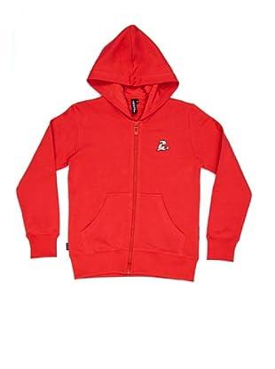El Niño Sudadera Vendado (Rojo)