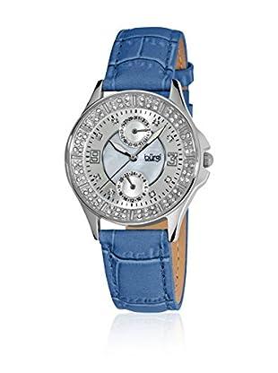Burgi Uhr mit Japanischem Quarzuhrwerk BUR044BU 36 mm