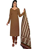 Shree Ganesh Women's Cotton Unstitched Dress Material (DSG330_Multi_Free Size)
