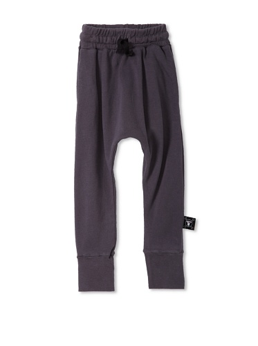 NUNUNU Baby Baggy Knit Pants (Dark Grey)