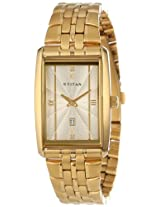 Titan Tycoon Analog Beige Dial Men's Watch - NC1560YM02