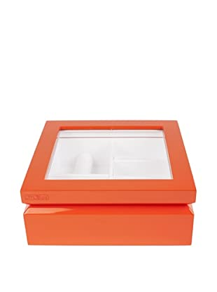 OYOBox Luxury European Inspired Jewelry Organizer, Orange