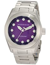 Android Men's AD471BPU  Antiforce 45 Quartz Puple Dial Watch