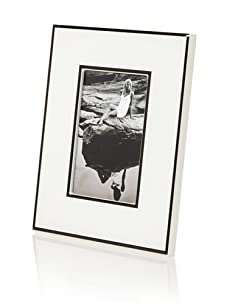 "Diamond Reef Uptown Glossy Finish 4"" x 6"" Picture Frame, Glossy White"