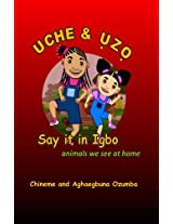 Animals we see at home: Volume 1 (Uche and Uzo Say It in Igbo)
