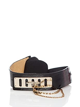 Lola Casademunt Cinturón Hebilla Negro Única