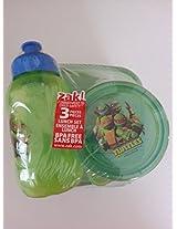 Teenage Mutant Ninja Turtle Zak Plastic Lunch Set
