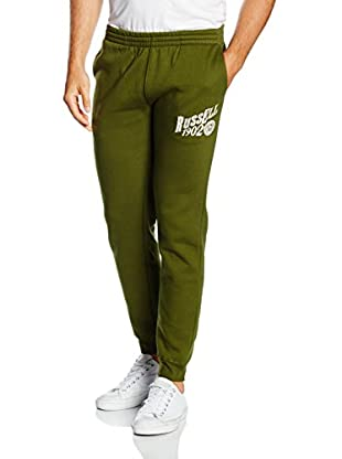 Russel Athletic Pantalón Deporte Cuffed Bottom-Big Print