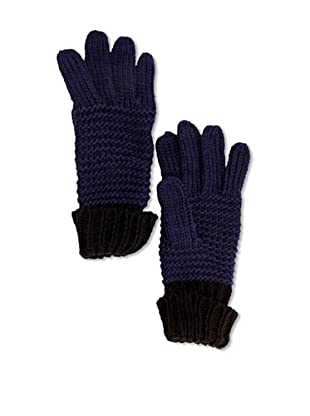 French Connection Guantes  Leora (Azul oscuro / Negro)