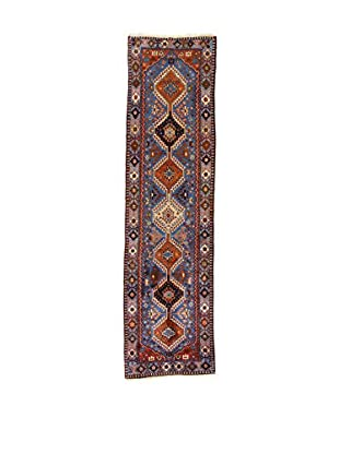Eden Teppich Yalameh .N blau/mehrfarbig 85 x 318 cm