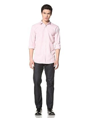 Scott James Men's Dino Shirt (Rose)